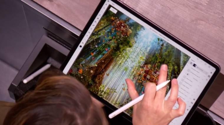 Nagyon hasznos dologgal újít az iPadekre írt Photoshop kép