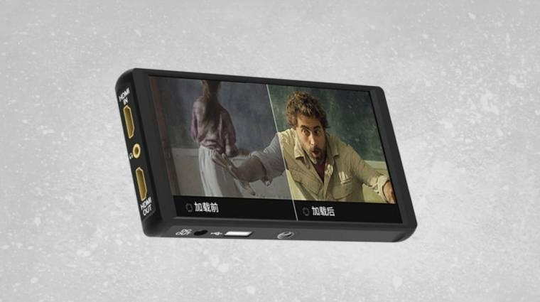 Itt egy olcsó és hordozható, HDMI-s monitor kép