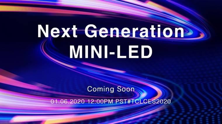 A mini-LED-re gyúr a TCL kép