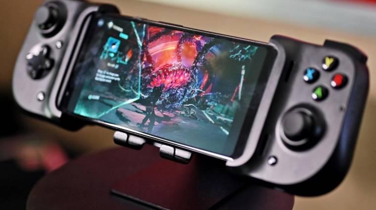 Elhivatott mobilos játékosoknak készült a Razer Kishi gamepadje kép
