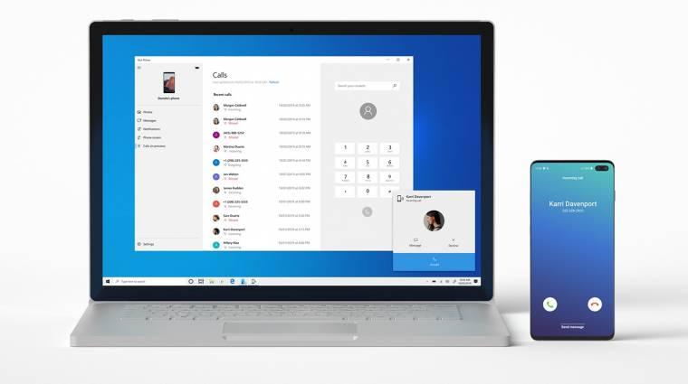 Mobil és PC között másolgathat tartalmat a Windows 10 kép
