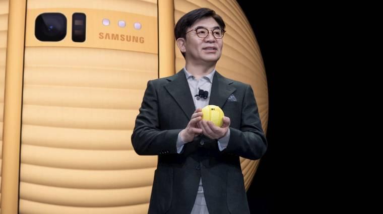 Saját BB-8 robotot akarsz? Itt a Samsung Ballie, és még gurul is kép