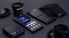 Nem lesz túl izmos az összehajtható Samsung Galaxy Z Flip akkuja kép