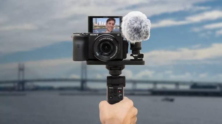 Alaposan megkönnyíti a fényképezőgépes vlogolást a Sony kép