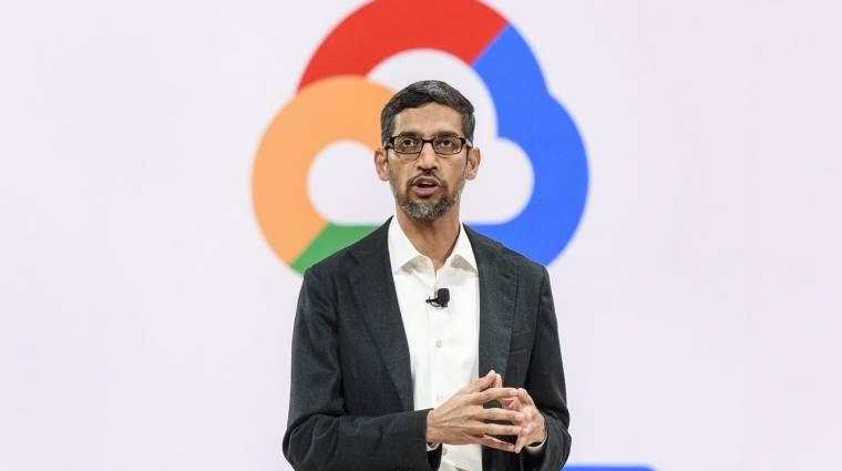 A Google vezére szerint ideje törvényben szabályozni a mesterséges intelligenciát kép