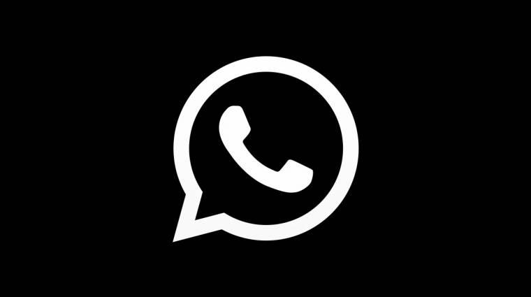 Megérkezett a WhatsApp sötét módja kép