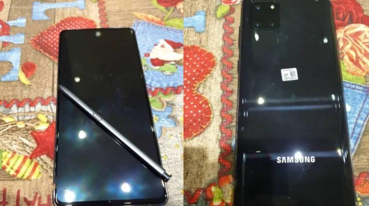 Befutottak az első képek a Samsung Galaxy Note 10 Lite-ról kép
