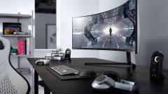 Alaposan meghajlította az új gamermonitorait a Samsung kép