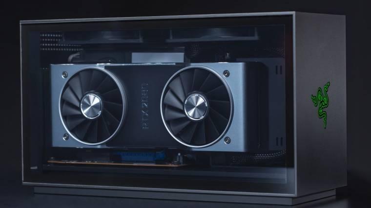 Látványos és moduláris a Tomahawk, a Razer első asztali gamer-PC-je kép