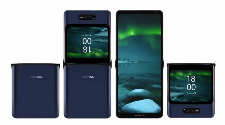 Idén érkezhet a Nokia összehajtható kijelzős mobilja kép
