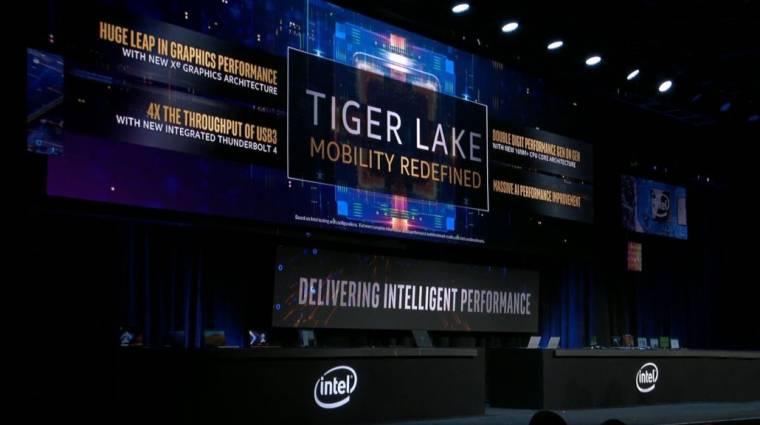 Itt vannak a következő-generációs Intel Tiger Lake processzorok kép