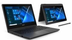 Olcsó és átalakítható az Acer TravelMate Spin B3 laptop kép