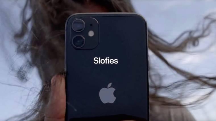 Megint a lassított szelfikkel kampányol az Apple kép