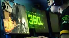 360 Hz-es, G-Sync-képes kijelzőt villantott az ASUS és az NVIDIA kép