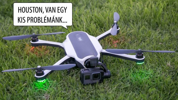 Világszerte megbénultak a GoPro Karma drónok kép