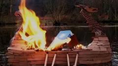 Viking temetést kapott a Windows 7 kép